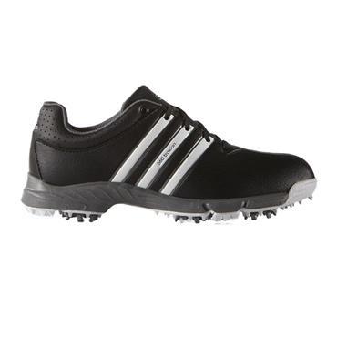 adidas Junior 360 Traxion Shoes Core Black - White - Iron Metallic