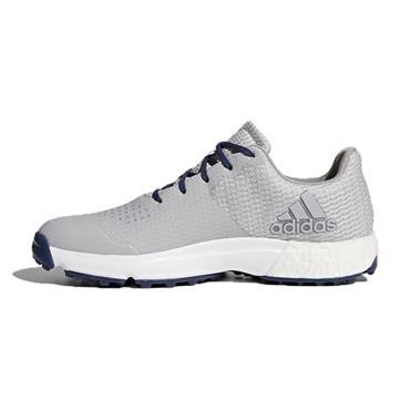 adidas Gents Adipower S Boost 3 Golf Shoes Medium Fit Grey - Indigo
