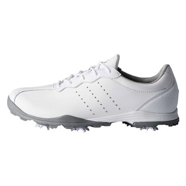 adidas Ladies Adipure DC Golf Shoes White - Silver