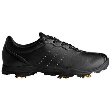 adidas Ladies Adipure DC Golf Shoes Black - Gold