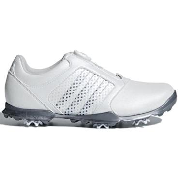 adidas Ladies Adipure Boa Golf Shoes White