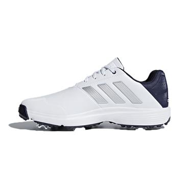 adidas Gents Adipower Bounce Wide Shoes White - Silver