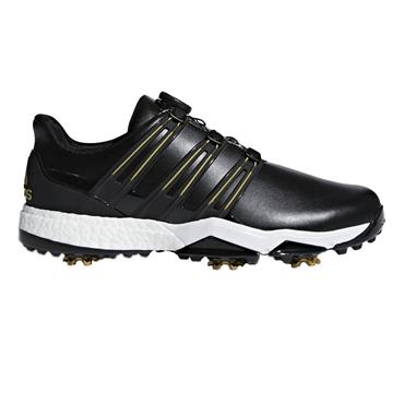 adidas Gents Powerband Boa Boost Shoes Black