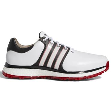 adidas Gents Tour 360 XT-SL Golf Shoes Wide Fit White - Black - Scarlet