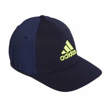 adidas Gents Golf Tour Cap Navy - Solar Yellow