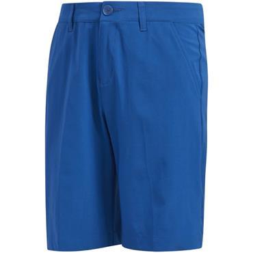 adidas Boys Solid Golf Shorts Glory Blue