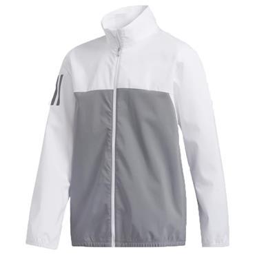 adidas Junior - Boys Provisional Rain Jacket White
