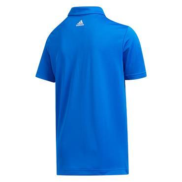 adidas Junior - Boys  3-Stripes Polo Shirt Glory Blue