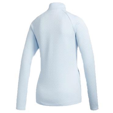 adidas Ladies Full Zip Layer Jacket Sky Tint
