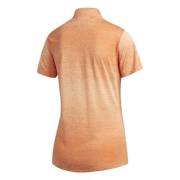 adidas Ladies Gradient Polo Shirt Amber Tint