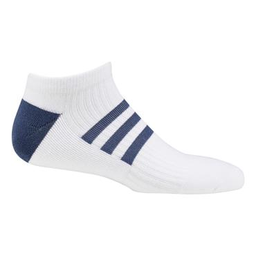 adidasLadies Comfort Low-Cut Socks Single White - Tech Indigo