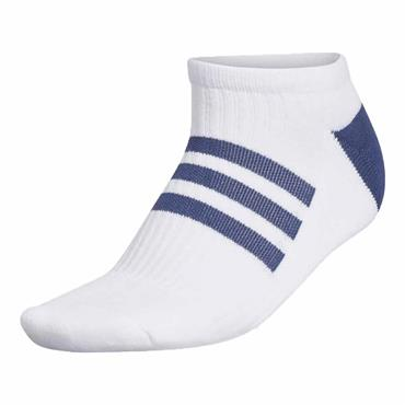 adidas Ladies Comfort Low-Cut Socks Single White - Tech Indigo