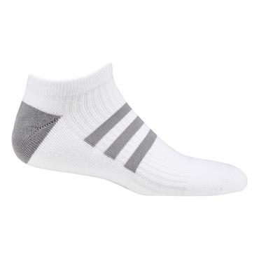 adidasLadies Comfort Low-Cut Socks Single White - Grey Two