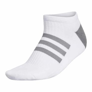 adidas Ladies Comfort Low-Cut Socks Single White - Grey Two