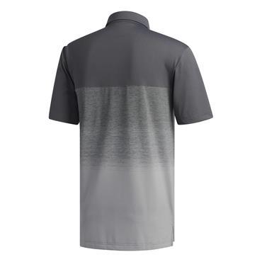 adidas Gents Ultimate365 1.1 Print Polo Shirt Grey Three