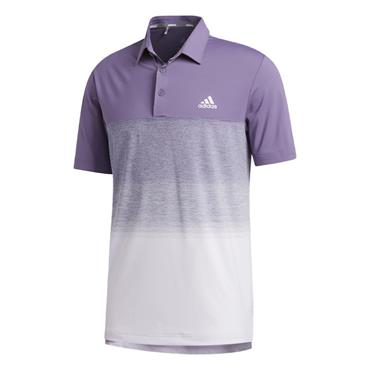 adidas Gents Ultimate365 1.1 Print Polo Shirt Purple Tint