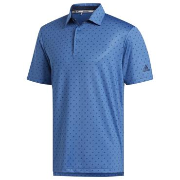 adidas Gents Ultimate365 Badge of Sport Polo Shirt Trace Royal - Navy