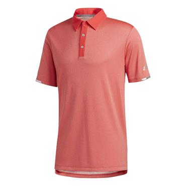 adidas Gents Heat.Rdy Base Polo Shirt Real Coral