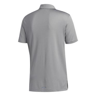 adidas Gents Heat.Rdy Polo Shirt Grey Three Melange