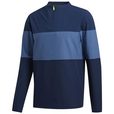 adidas Gents Lightweight Layering 1/4 Zip Sweatshirt Navy - Trace Royal