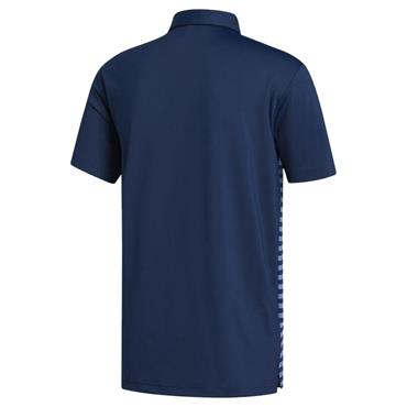 adidas Gents Ultimate365 Stripe Polo Shirt Collegiate Navy - Trace Royal