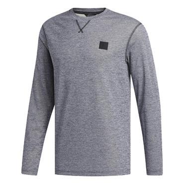 adidas Gents Adicross No Show Sweatshirt Collegiate Navy - Melange