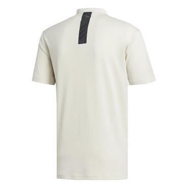 adidas Gents Adicross No Show Polo Shirt Grey Melange