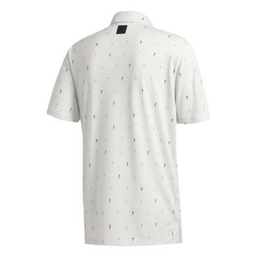 adidas Gents Adicross Drive Polo Shirt Orbit Grey