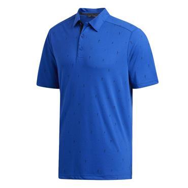 adidas Gents Adicross Drive Polo Shirt Royal