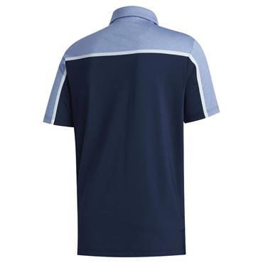 adidas Gents Ultimate 365 Colourblock Polo Shirt Navy - Royal