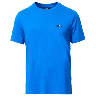 J.Lindeberg Gents Bridge Cotton T-Shirt Yale Blue 0171