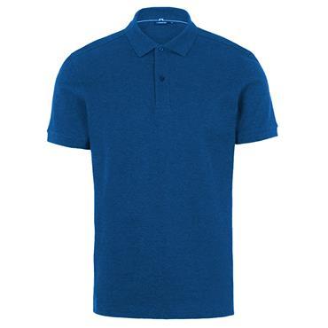 J.Lindeberg Gents Troy Pique Shirt Yale Blue 0171