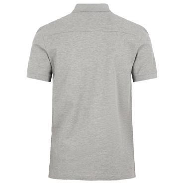 J.Lindeberg Gents Troy Pique Shirt Lt Grey - Melange 9351