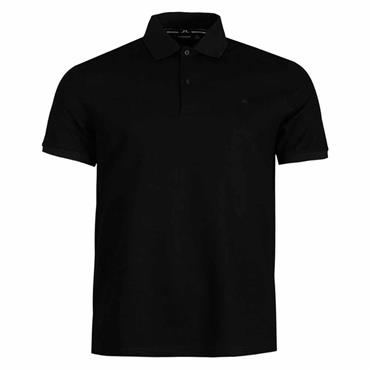 J.Lindeberg Gents Troy Pique Polo Shirt Black