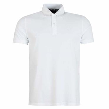 J.Lindeberg Gents Troy Pique Polo Shirt White