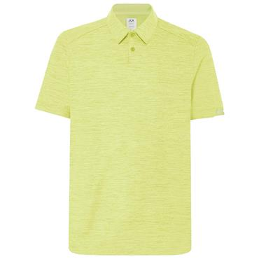 Oakley Gents Aero Ellipse 2.0 Polo Shirt Team Sunny Lime 5A8