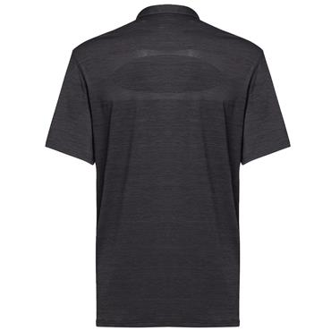 Oakley Gents Contender Polo Shirt Blackout Heather 09G
