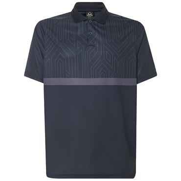 Oakley Gents Top Half Leader Polo Shirt Blackout