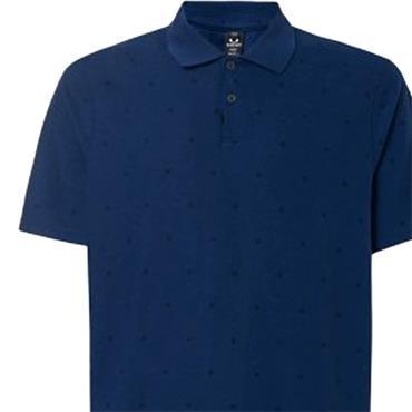 Oakley Gents Hexad TN Protect Polo Shirt Poseidon 6A1