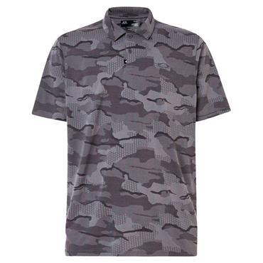 Oakley Gents Jaquard Cam Polo Shirt Blackout