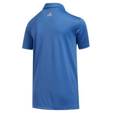 adidas Junior - Boys  3-Stripes Polo Shirt Trace Royal