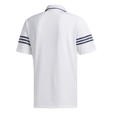 adidas Gents Ultimate Blocked Polo White - Navy
