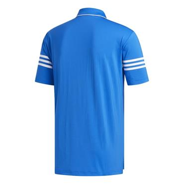 adidas Gents Ultimate 365 Blocked Polo Shirt Blue - White