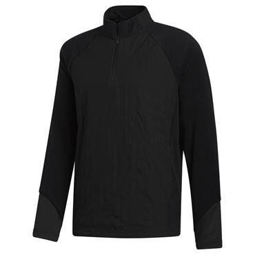 adidas Gents Frostguard Insulated ¼ Zip Top Black