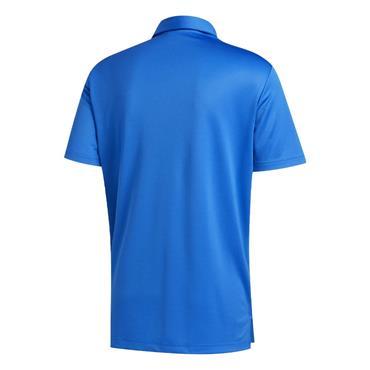 adidas Gents 3-Stripe Basic Polo Shirt Blue