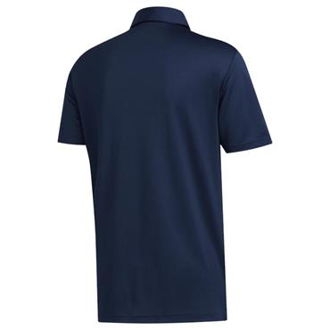 adidas Gents 3-Stripe Basic Polo Shirt Navy - White