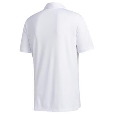 adidas Gents 3-Stripe Basic Polo Shirt White - Black