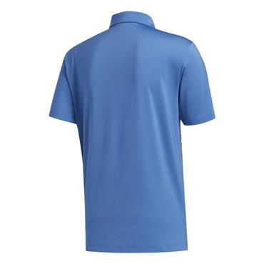 adidas Gents Ultimate 2.0 Solid Polo Shirt Trace Royal