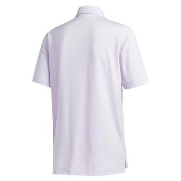 adidas Gents Ultimate 2.0 Solid Polo Shirt Purple Tint