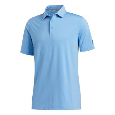 adidas Gents Ultimate365 Solid Polo Shirt Light Blue